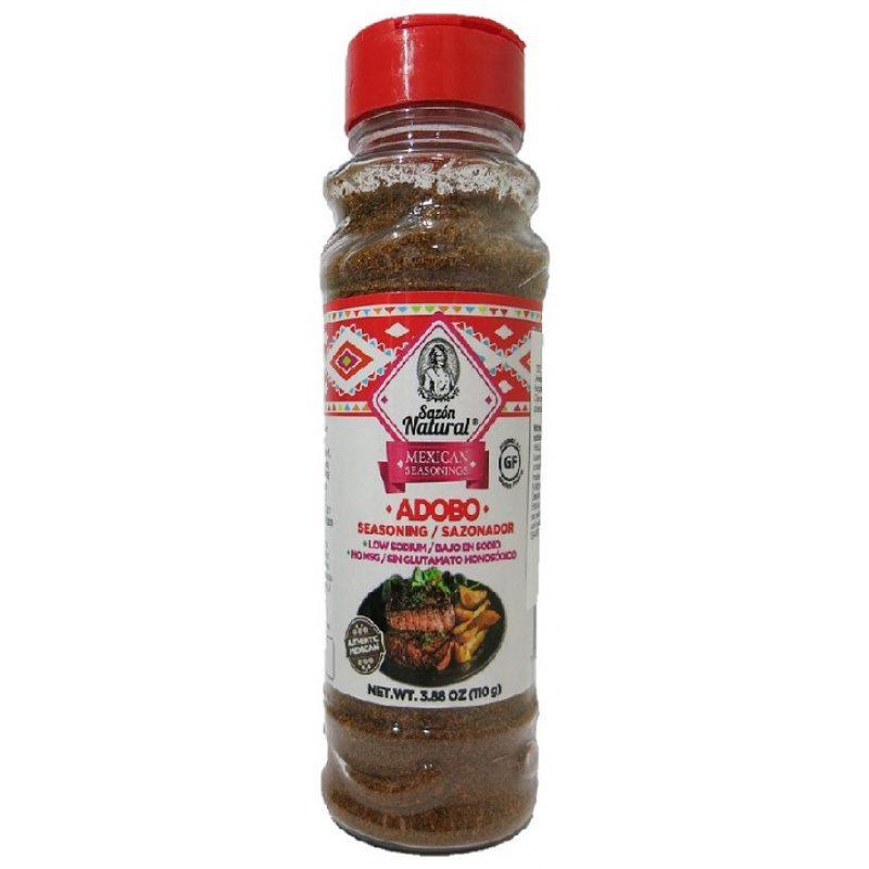 Sazon Natural, Seasoning Adobo, 110g (Bottle)