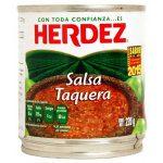 Herdez Salsa Taquera 220 g (Tin)