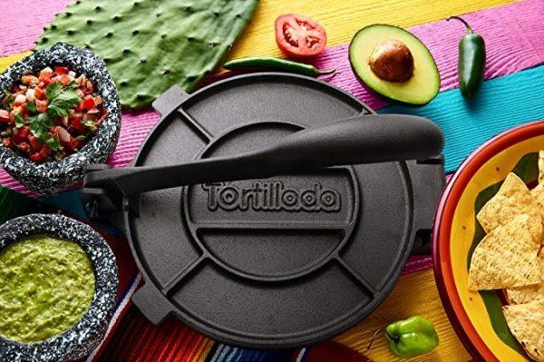 Tortillada, Tortilla Press 20cm, Cast Iron