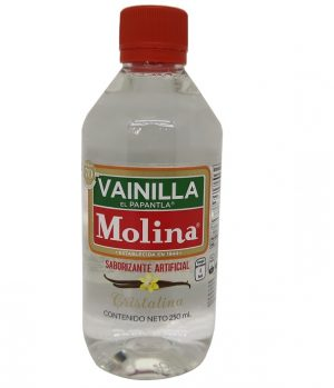 Vanilla Molina Artificial Flavouring – Clear (250ml)