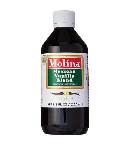 Vanilla Molina Natural (250ml) = Vainilla