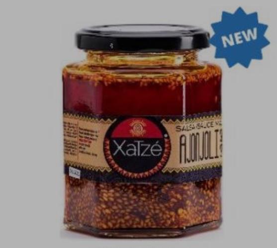 Xatze, Salsa Macha Ajonjoli [Sesame], 230g (Glass)