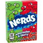Nerds, Watermelon & Cherry, 47g (Box)