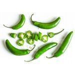 Organic Fresh Serrano Chiles, 10pcs